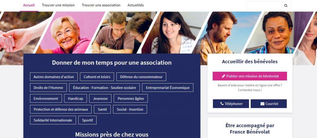 Site d'annonces de missions bénévoles dans l'Isère